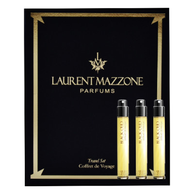 Laurent Mazzone - Black Oud - Extrait de Parfum Travel Size - 3 fiale / 15 ml