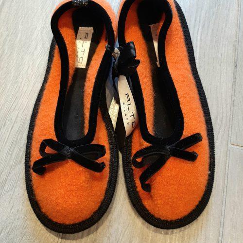 Nancy ballerina da casa (Arancio) - ALTO